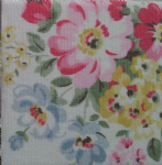 Ceramic Wall Tiles Made With Spring Bouquet by Cath Kidston in White